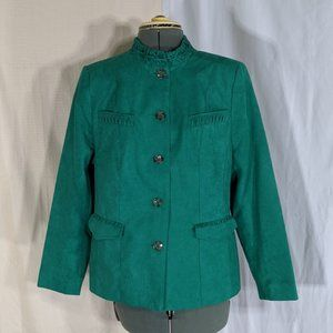 TanJay Faux Suede Button Up Coat 10P